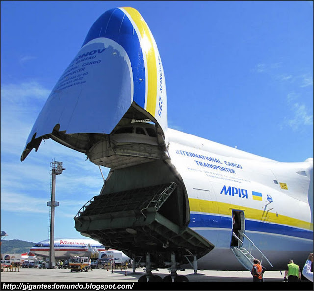 Abertura do Antonov An-225