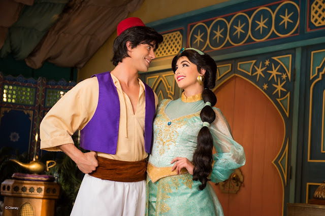 Jasmine, no Magic Kingdom