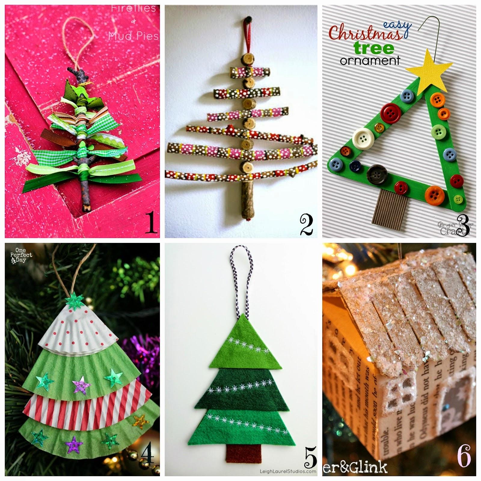 Molto Decorazioni per l'albero di Natale fai da te- 12 tutorial semplici  QC71