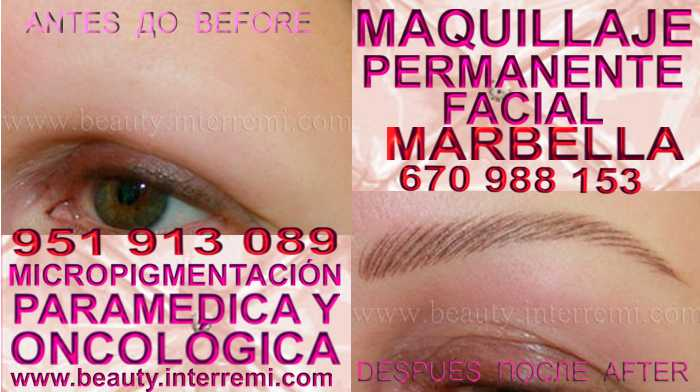 micropigmentyación Fuengirola clínica estetica ofrece los preferible precio para micropigmentyación, maquillaje permanente de cejas en Fuengirola y marbella