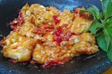 Resep praktis (mudah) pecak tempe spesial (istimewa) enak, sedap, gurih, nikmat lezat