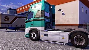 New Realistic Volvo FH Straight Pipes Sound mod