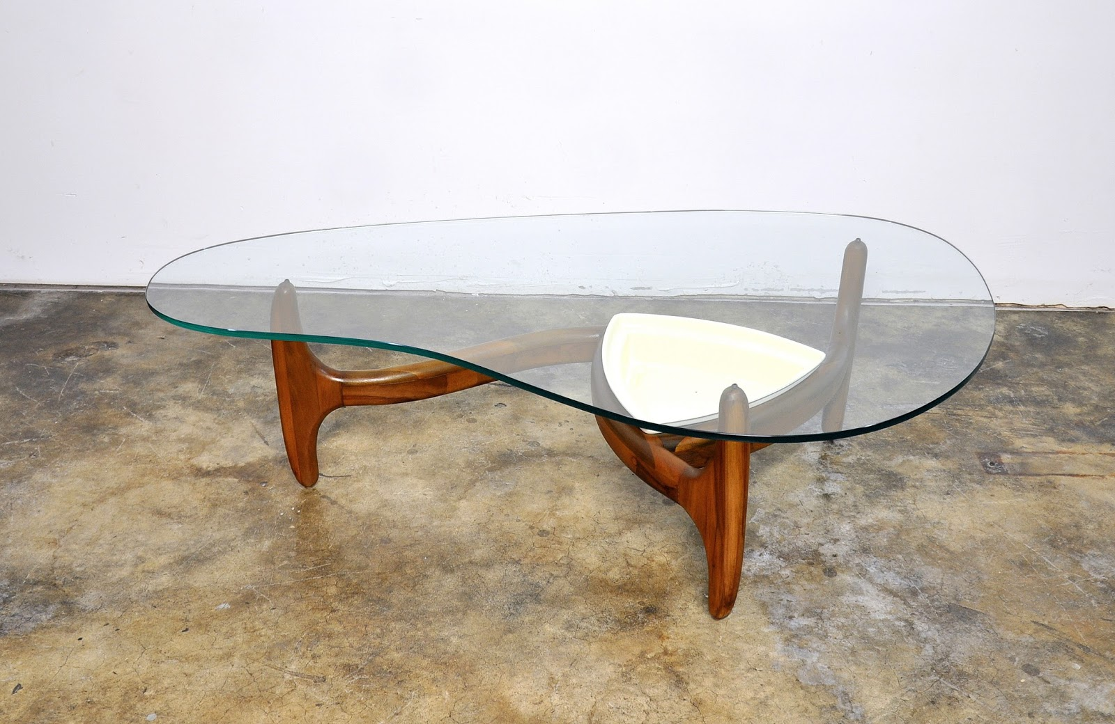 Select Modern Adrian Pearsall Kidney Coffee Or Cocktail Planter Table