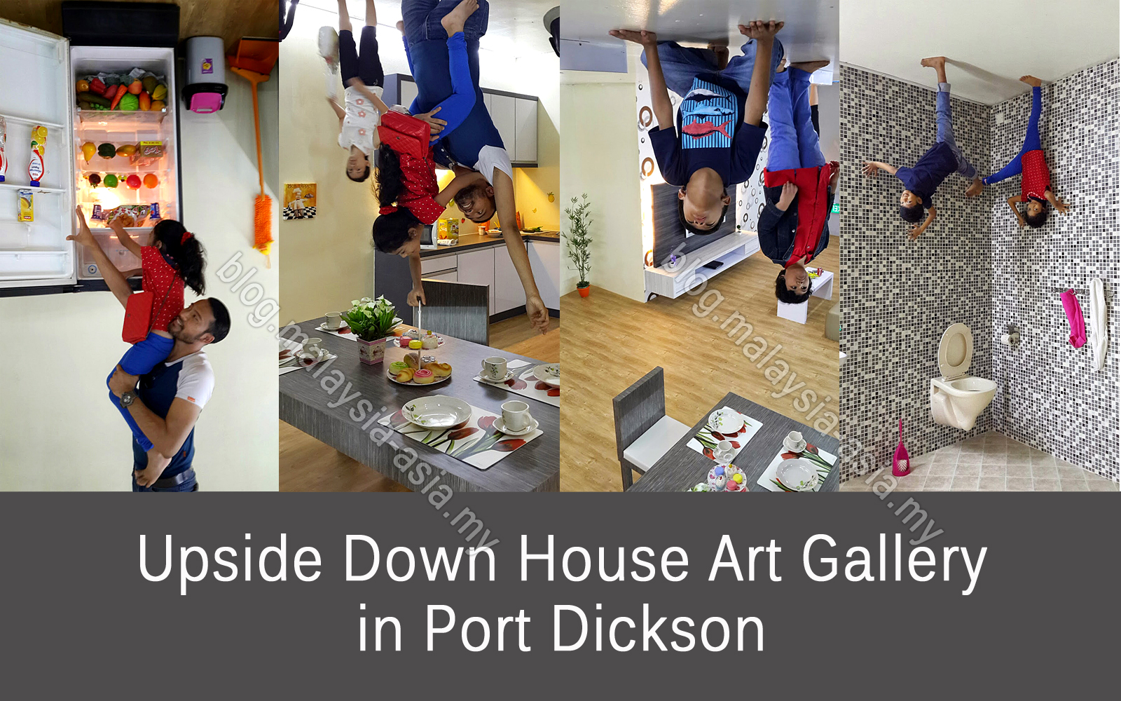 Upside Down House Gallery In Pd Malaysia Asia Travel Blog