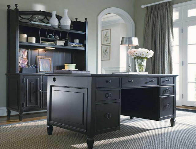 best buy black wood home office furniture sets free shipping