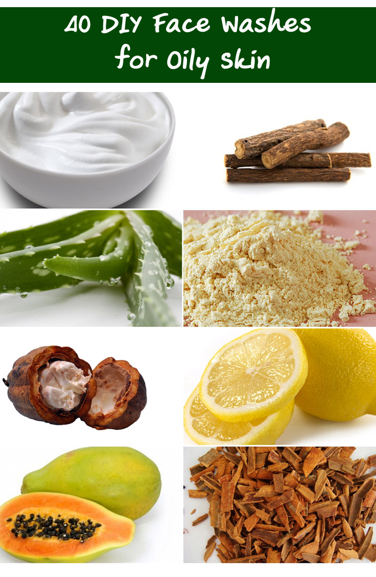 40 Effective Homemade Face Wash For Oily Skin Natural