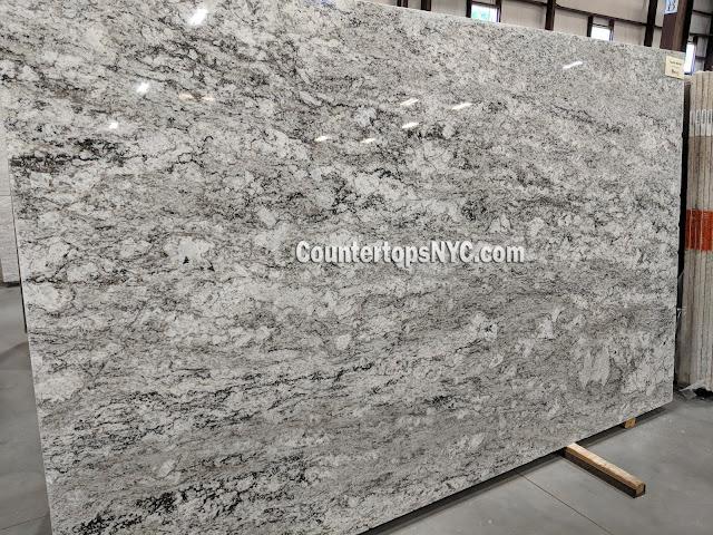 White Granite Slabs For Kitchen Countertops NYC