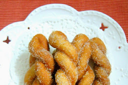 Shakoy (Twisted Sugar Doughnuts)