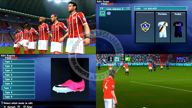 Download PES 2018 Jogress Update Texture Patch mod For PPSSPP ISO Android dan PC