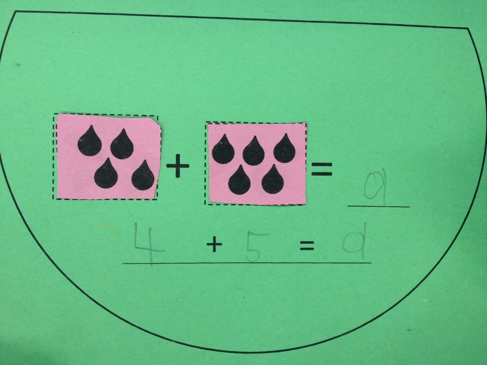 Watermelon Writing And Math