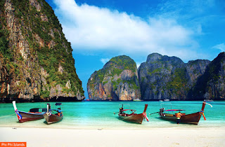 Cover Photo: Phi Phi Islands