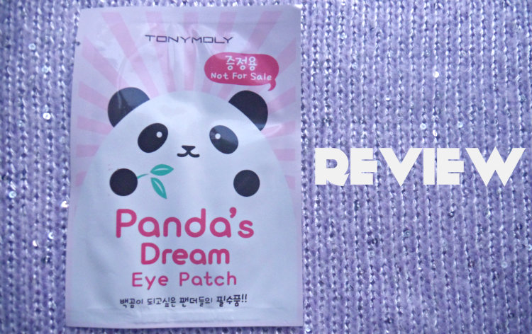 Review, Panda's Dream Eye Patch, TonyMoly.