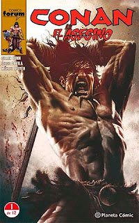 Portada Conan el Asesino nº1