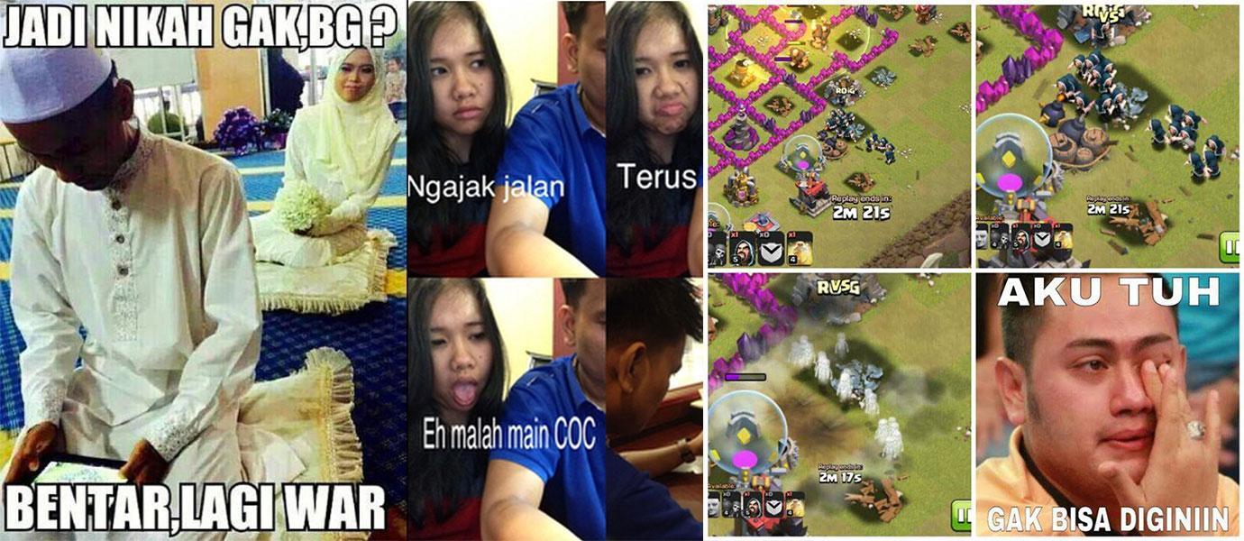 Kumpulan Meme Dan Foto Lucu Tentang Clash Of Clans GameKu