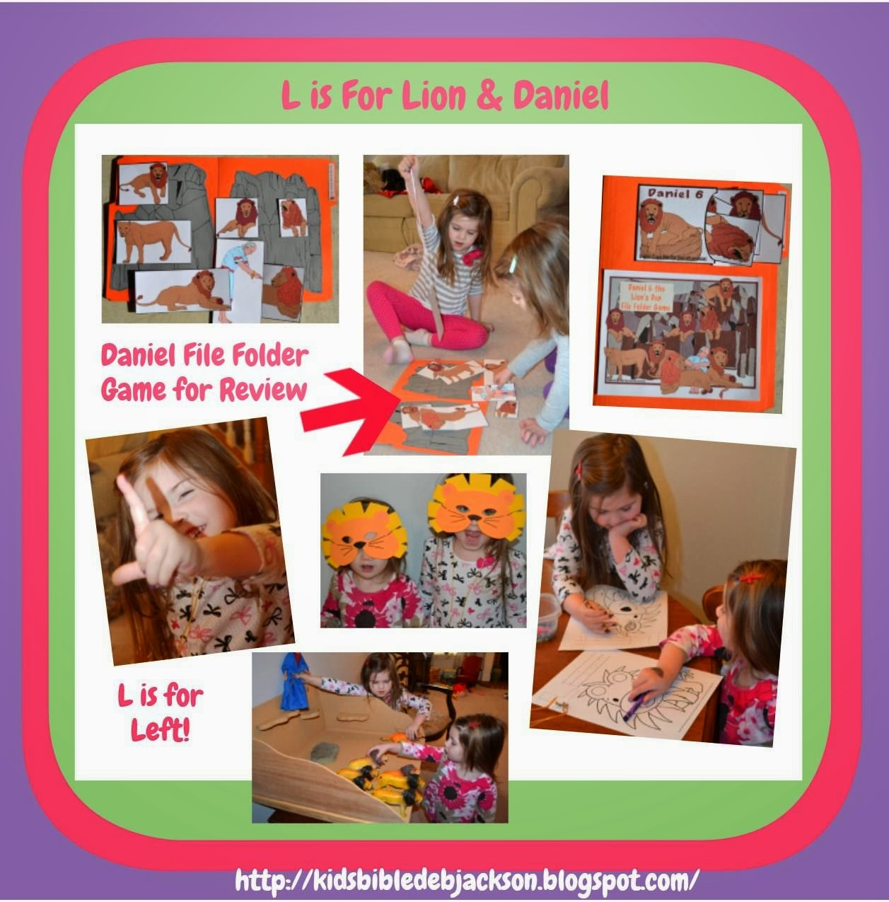 Bible Fun For Kids Preschool Alphabet L Is For Lions
