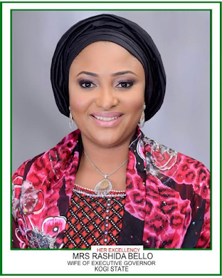 Kogi State 1st Lady Mrs Rashida Bello  Message as Kogi turns 25