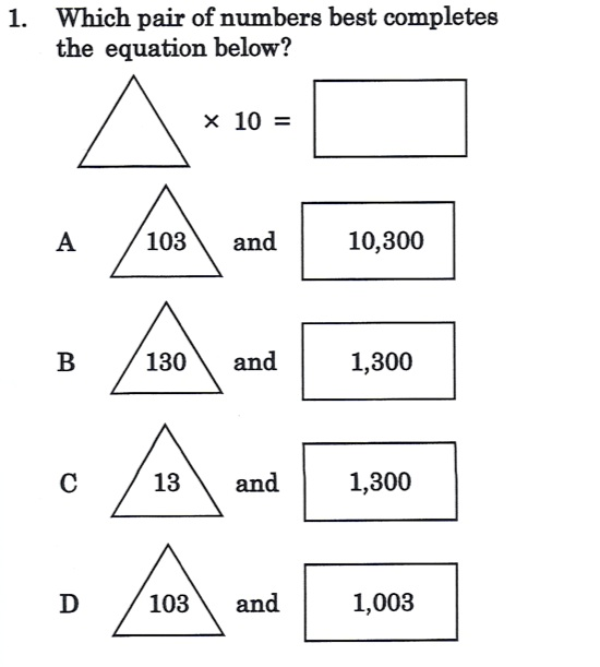 SASIC 4th Grade Class 2011-2012: More Math Practice
