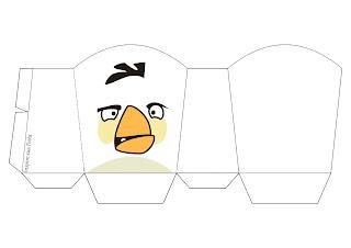 Cajas para Imprimir Gratis de Angry Birds.