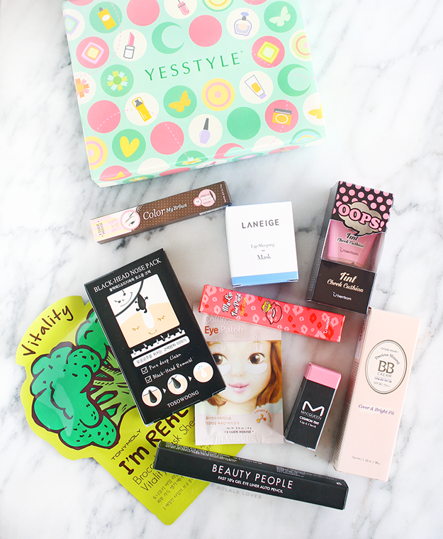 Asian Beauty, K-beauty, Asian Beauty Box,YESSTYLE review Beauty Box Review,