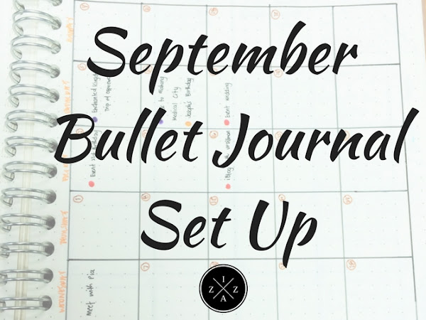 September Bullet Journal Set Up