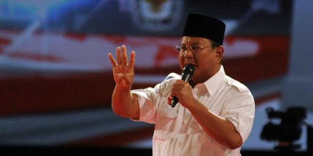 Prabowo Subianto Laporkan Akun ini ke Polisi
