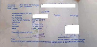 cara dan syarat daftar haji di kantor kementerian agama jakarta selatan bukti setoran pembukaan tabungan haji bank muamalat indonesia nurul sufitri mom blogger review
