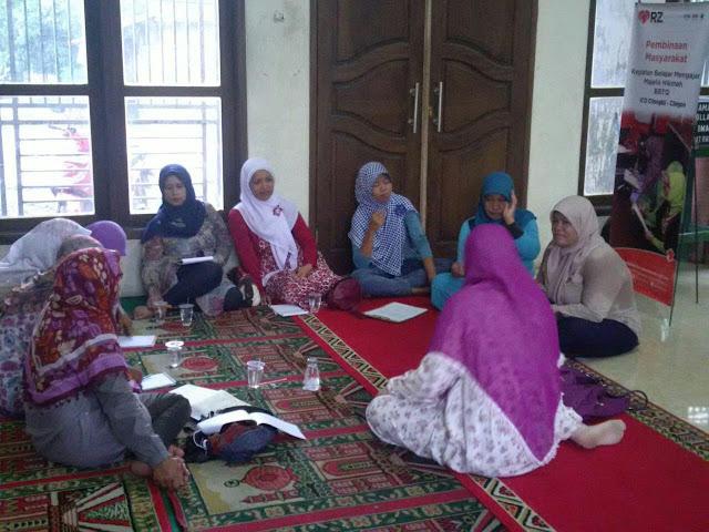 RZ Cilegon Bina Ibu-Ibu Penerima Manfaat dengan Ilmu Agama
