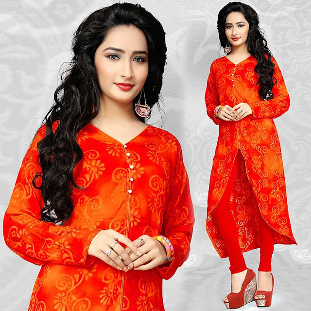This Summer Season Girls Be Ready For Wearing Stylish Kurtis With Fabulous Prints And Colors