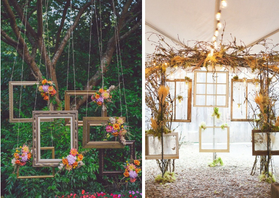 wedding backdrops, wedding vintage frames, decorazioni matrimonio
