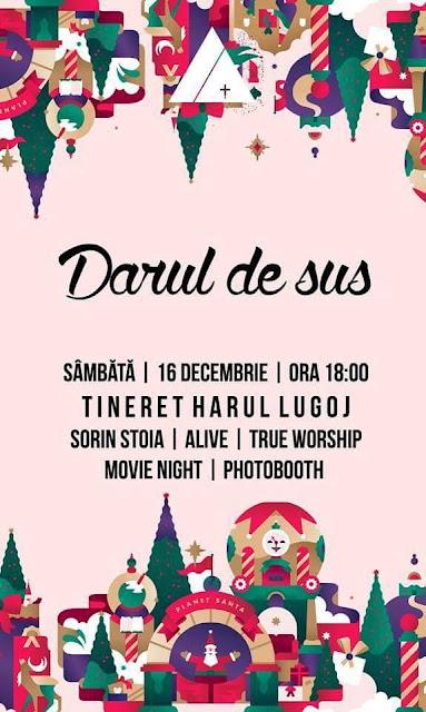 Concert de colinde Darul de Sus la Lugoj - 16 dec 2017