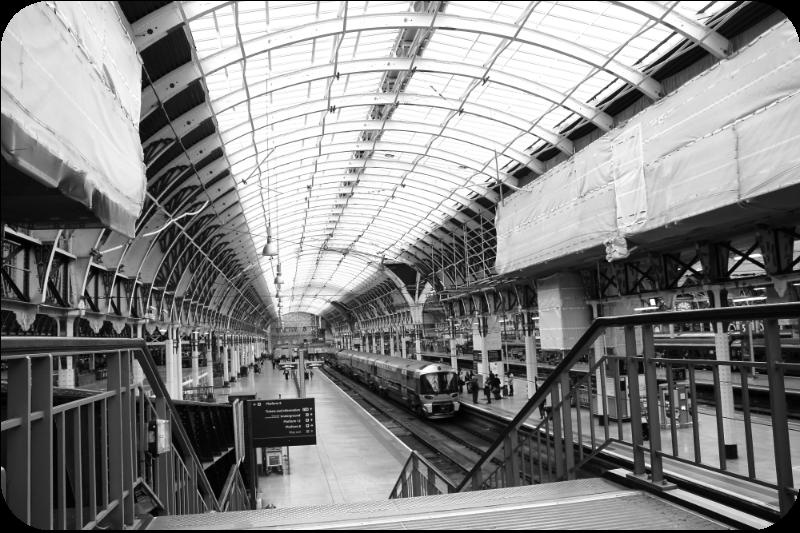 Blick in den Bahnhof Paddington | Arthurs Tochter kocht von Astrid Paul