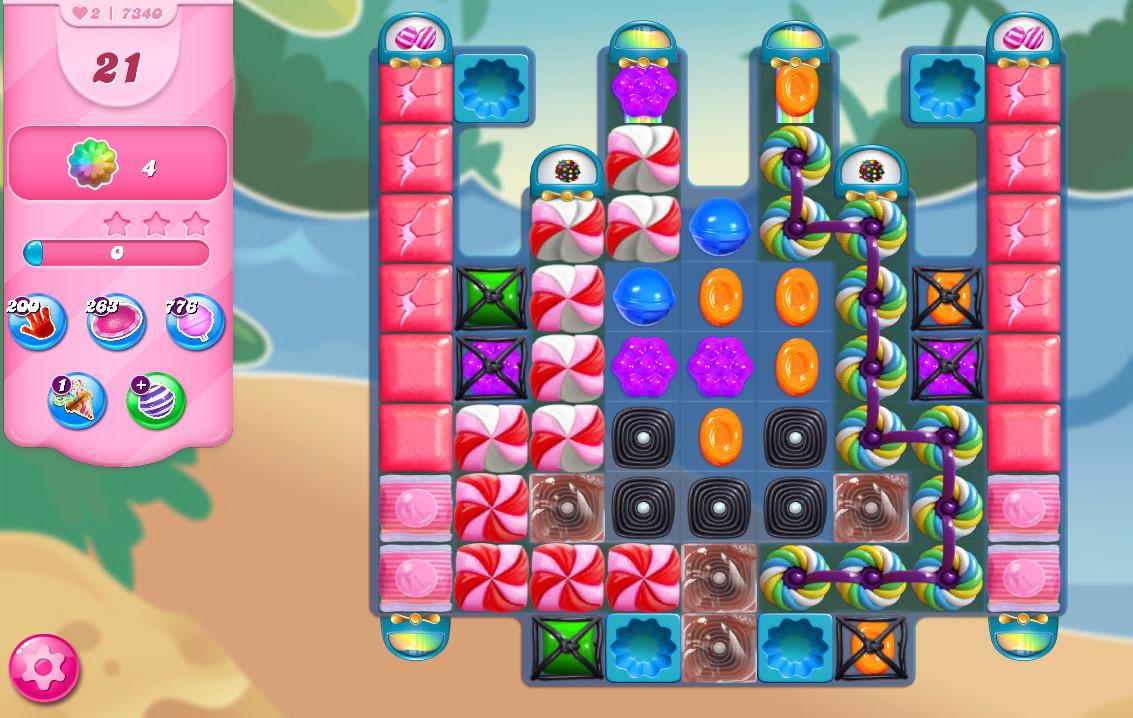 Candy Crush Saga level 7340