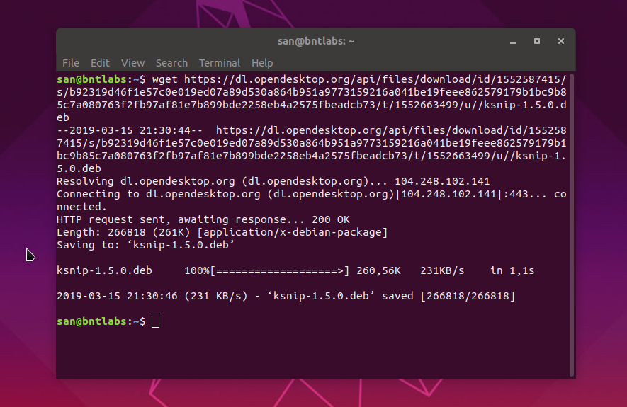 ksnip 1 5 0 is Released, Screenshot Tool For Ubuntu / MX