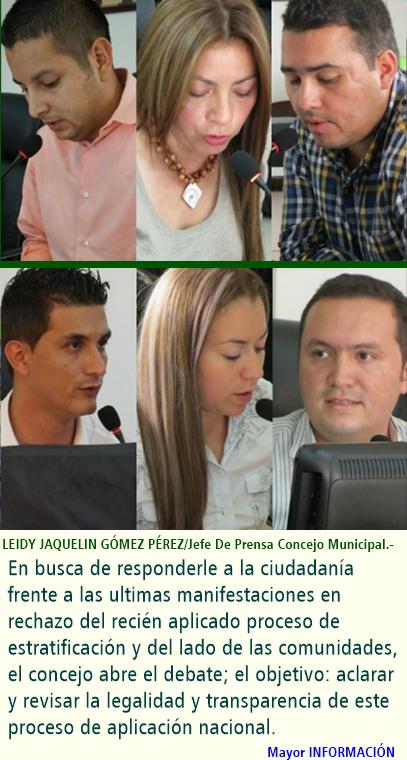 FUSAGASUGÁ: SEGUNDO DEBATE CONSECUTIVO DE CONTROL POLÍTICO A PLANEACIÓN MUNICIPAL. TEMA: PROCESO DE