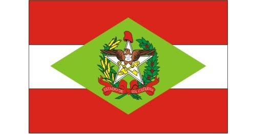 bandeira de santa catarina vetorizada em cdr