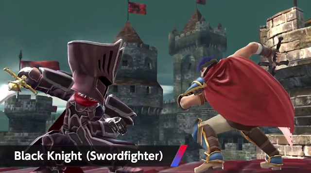 Mii Fighter costume wave 3 Black Knight swordfighter Super Smash Bros. Fire Emblem