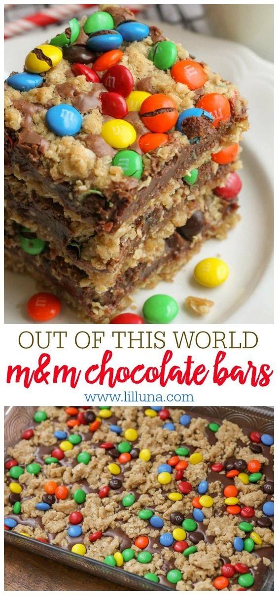 M&M Bars Recipe