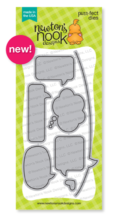 Speech Bubbles Die Set by Newton's Nook Designs #newtonsnook