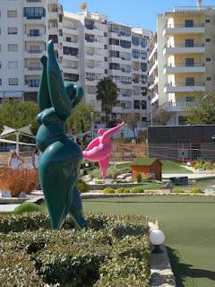 Pro Putting Garden minigolf in Lagos, Portugal. Photo by Ruth Lutt, 2017