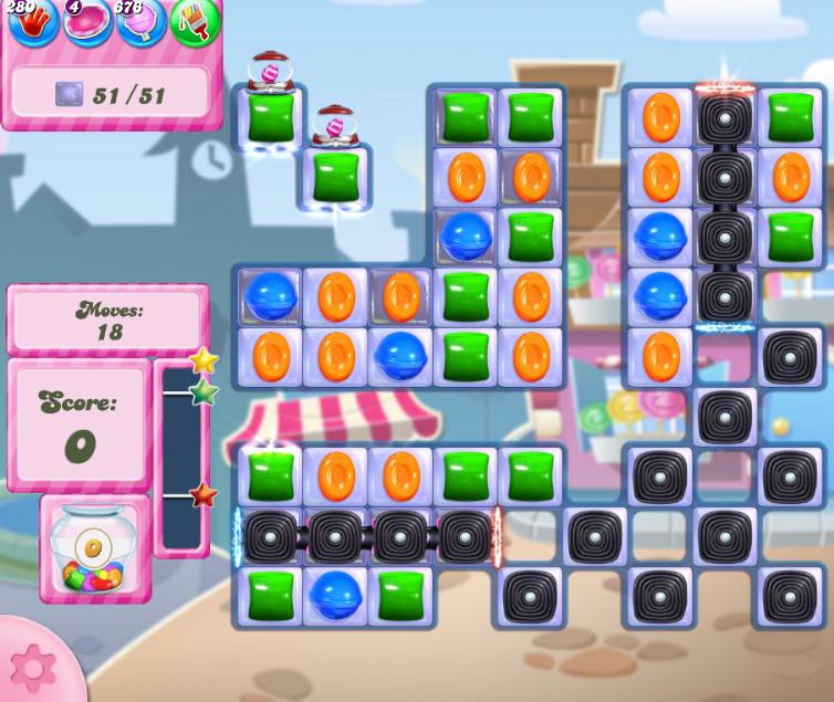 Candy Crush Saga level 2730