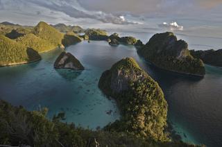 Keindahan Kepulauan Raja Ampat Papua