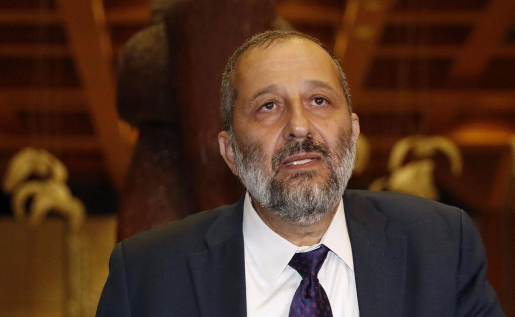 Koide9enisrael le ministre de l int rieur mis en examen for Ministre de l exterieur