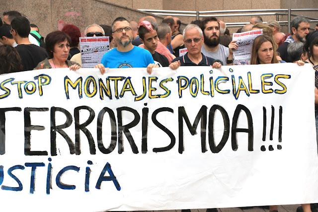 concentración contra la imputación de terrorismo en Alsasua