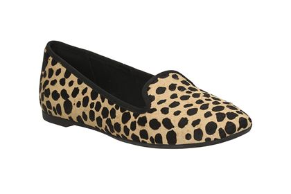 Leopard shoes Clarks