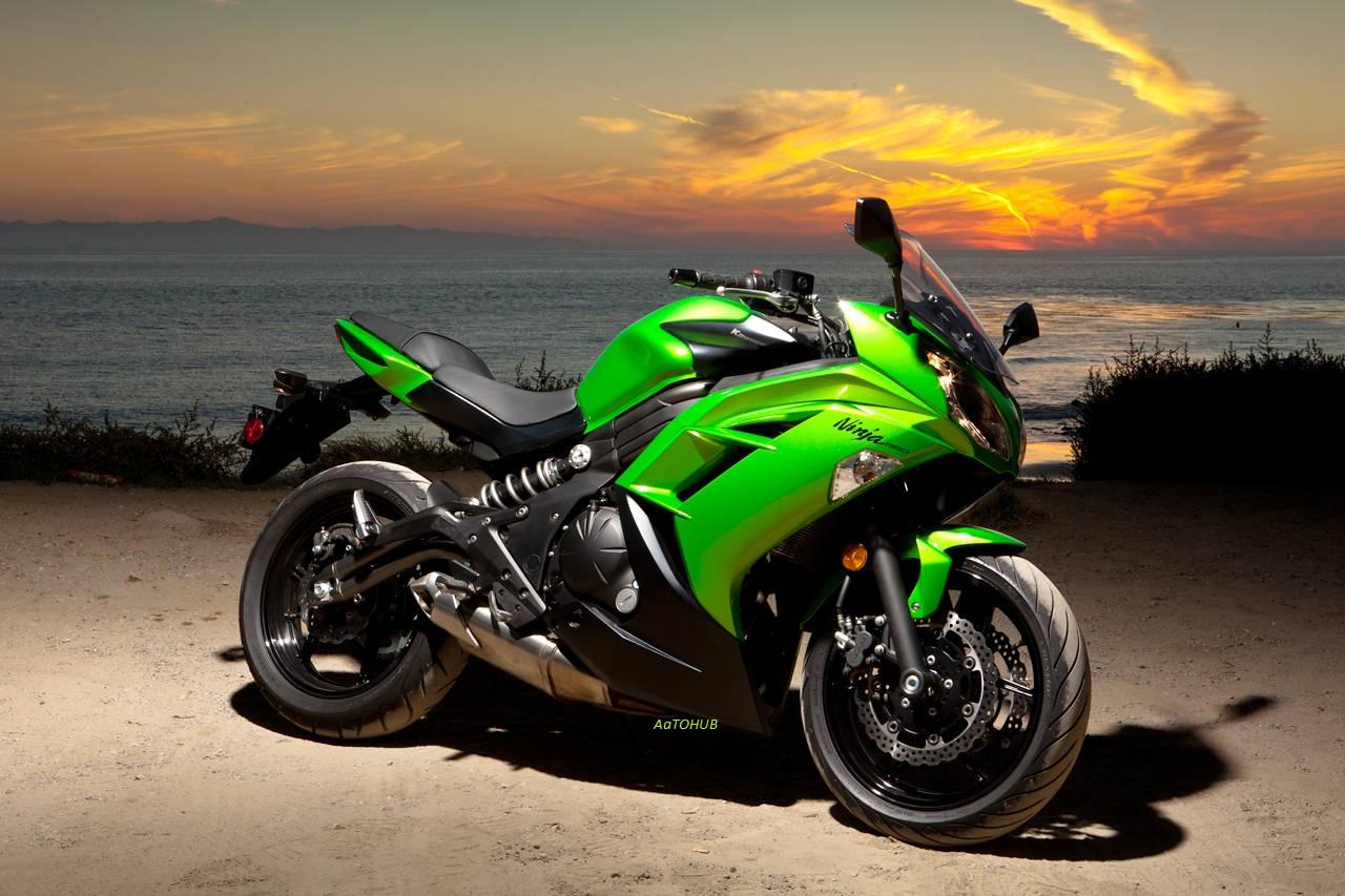Foto Motor Kawasaki Ninja Modifikasi Motor Yamaha