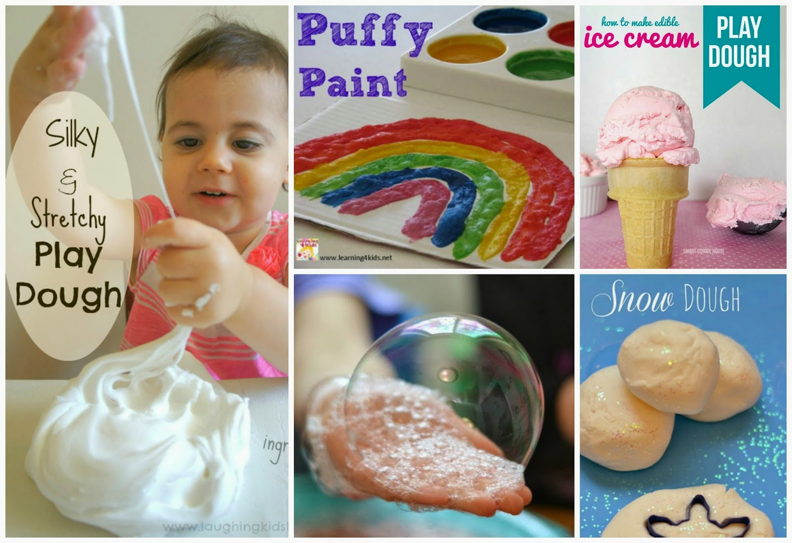Amazing play recipes for kids