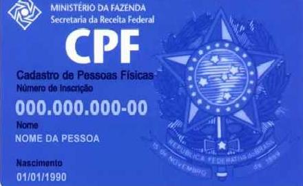 Alteração do CPF pela Internet – Serviço gratuito.