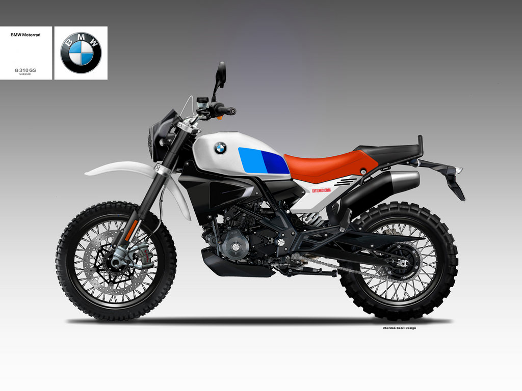 motosketches bmw g 310 classic gs concept. Black Bedroom Furniture Sets. Home Design Ideas