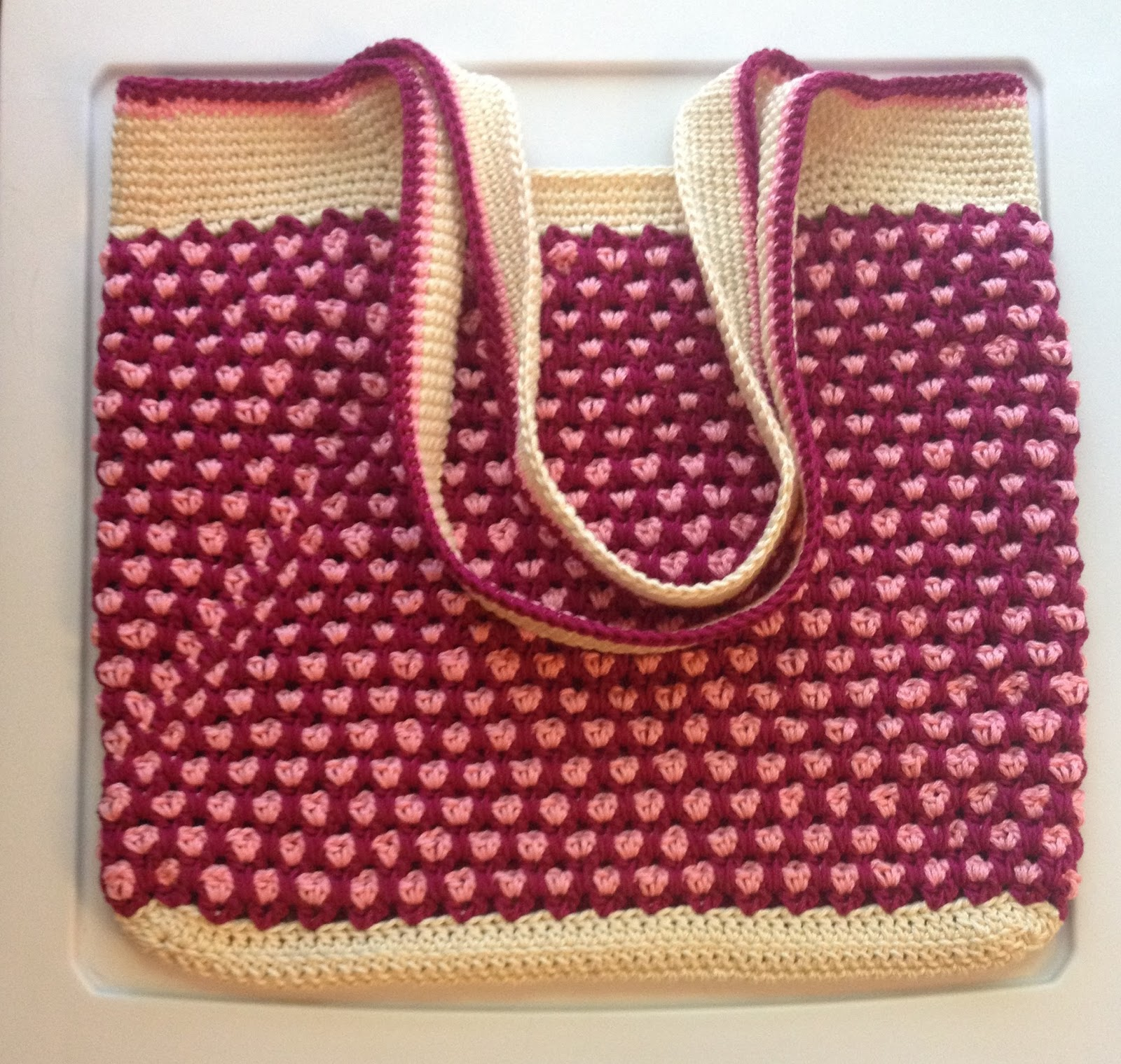 The Unknown Orchard: Moroccan Market Tote (free pattern from Moogly!)