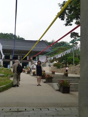 visite du temple Bongeunsa Séoul Corée du Sud